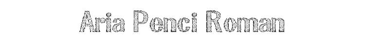 Aria Penci Roman Font Preview