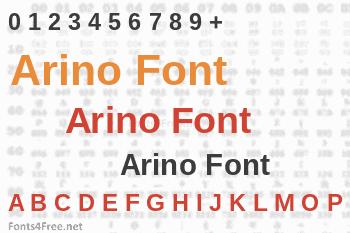 Arino Font
