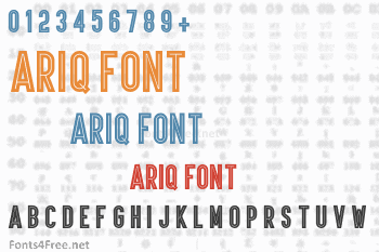 Ariq Font