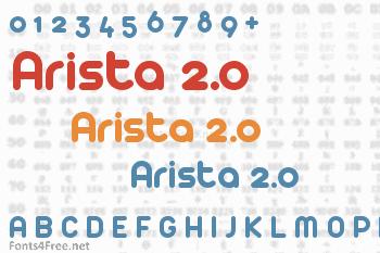 Arista 2.0 Font