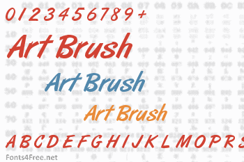 Art Brush Font