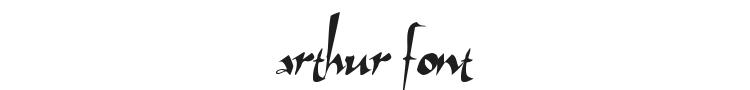 Arthur Font Preview