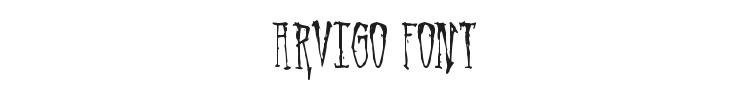 Arvigo Font Preview