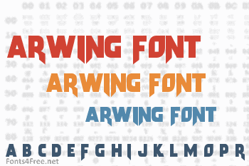 Arwing Font Download - Fonts4Free