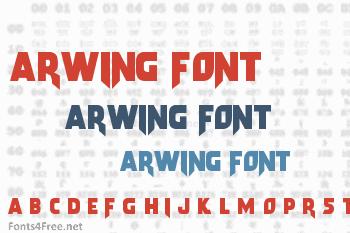 Arwing Font