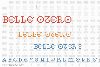As pedras da Belle Otero Font