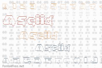 Asciid Font