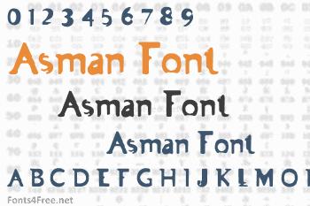 Asman Font