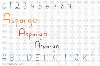 Aspargo Font