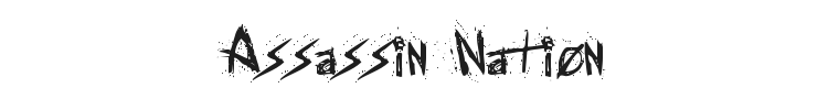 Assassin Nation Font