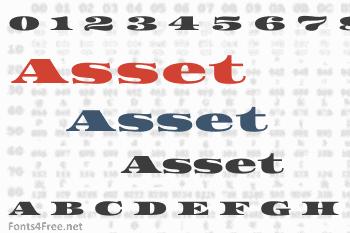 Asset Font