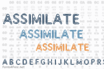 Assimilate Font