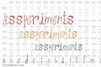 Assperiments Font