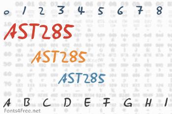 AST285 Font
