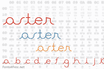 Aster Font