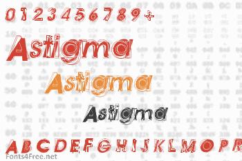 Astigma Font