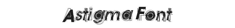 Astigma Font Preview