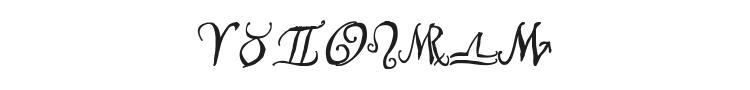 Astro Script Font Preview