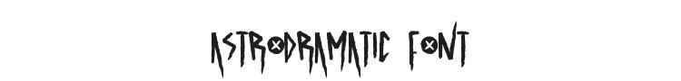 Astrodramatic Font