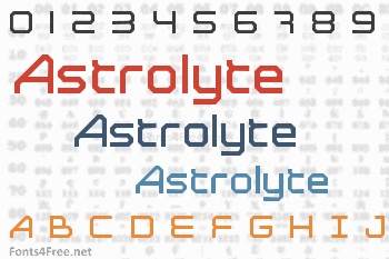 Astrolyte Font