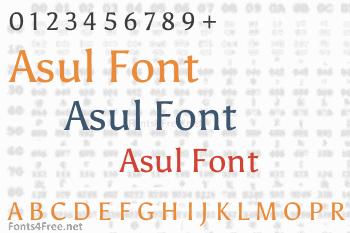 Asul Font