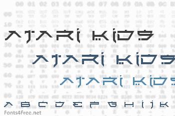 Atari Kids Font