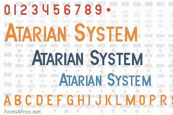 Atarian System Font