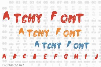 Atchy Font