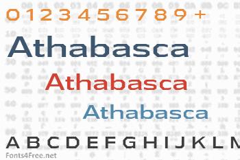 Athabasca Font