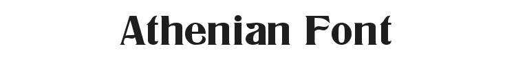 Athenian Font