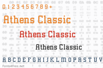 Athens Classic Font