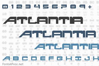 Atlantia Font