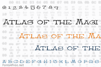 Atlas of the Magi Font