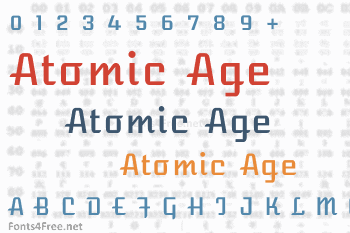 Atomic Age Font