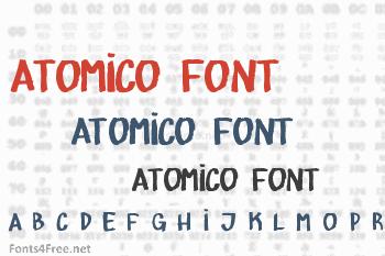 Atomico Font
