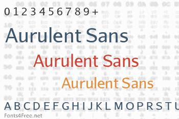 Aurulent Sans Font