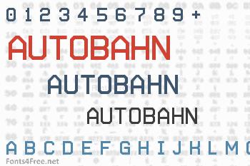 Autobahn Font