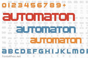 Automaton Font