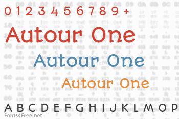 Autour One Font