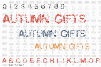 Autumn Gifts Font