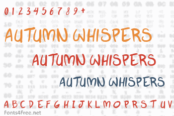 Autumn Whispers Font