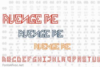 Avenge Me Font
