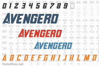 Avengero Font