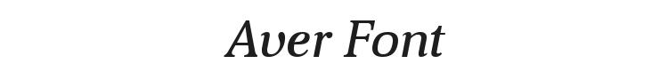 Aver Font