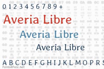 Averia Libre Font