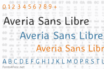 Averia Sans Libre Font
