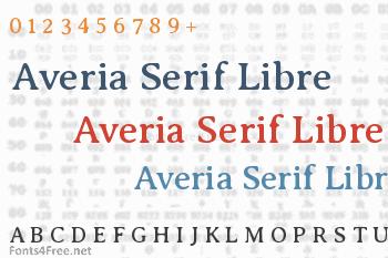 Averia Serif Libre Font