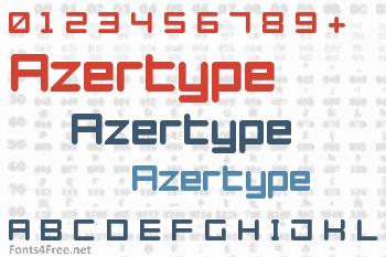 Azertype Font