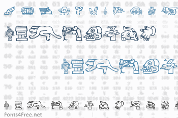 Aztec Font