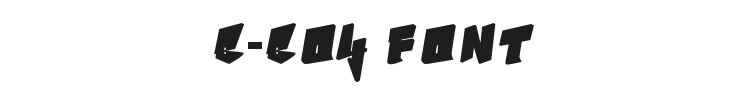 B-Boy Font Preview
